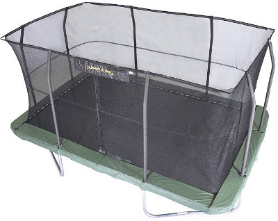 JumpKing Rectangular Trampoline combo