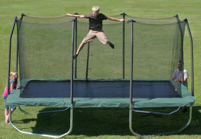 Summit Rectangle Trampoline